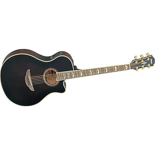 Yamaha APX1000 Thinline Cutaway Acoustic-Electric Guitar-thumbnail