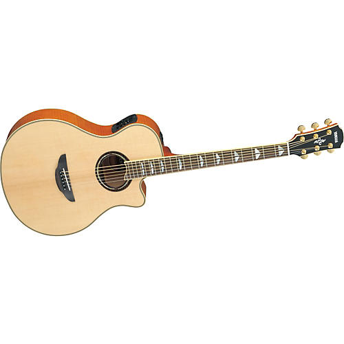 Yamaha APX1000 Thinline Cutaway Acoustic-Electric Guitar