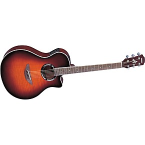 yamaha apx500fm flame maple thinline cutaway acoustic electric guitar musician 39 s friend. Black Bedroom Furniture Sets. Home Design Ideas