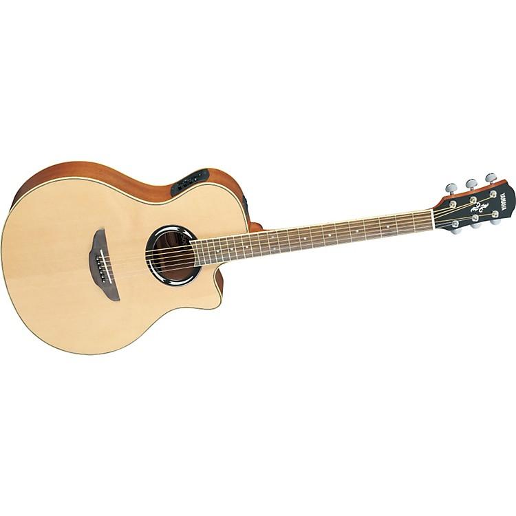 YamahaAPX500II Thinline Cutaway Acoustic-Electric GuitarNatural