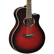 Yamaha APX500III Thinline Cutaway Acoustic-Electric Guitar Dusk Sun Red