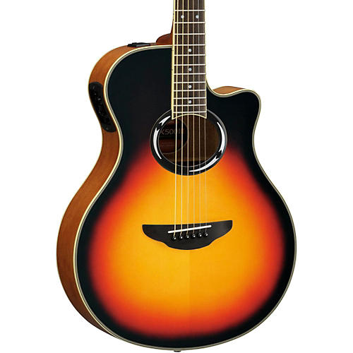 Yamaha APX500III Thinline Cutaway Acoustic-Electric Guitar-thumbnail