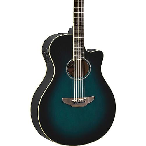 yamaha apx600 acoustic electric guitar oriental blue burst musician 39 s friend. Black Bedroom Furniture Sets. Home Design Ideas