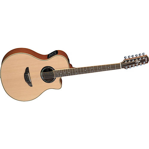 Yamaha APX700-12 12-String Thinline Cutaway Acoustic-Electric Guitar-thumbnail