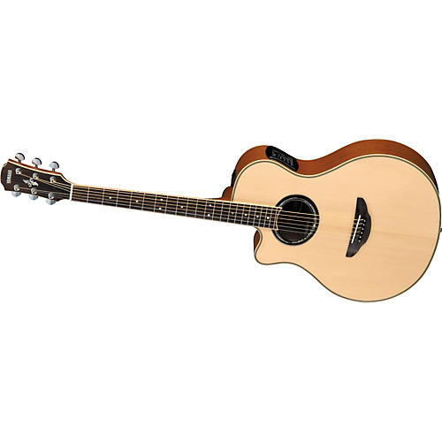 Yamaha APX700 Cutaway Left-Handed Thinline Acoustic-Electric Guitar