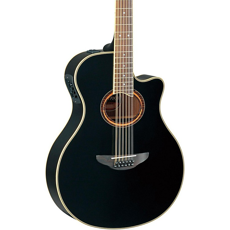 yamaha apx700ii 12 thinline 12 string cutaway acoustic