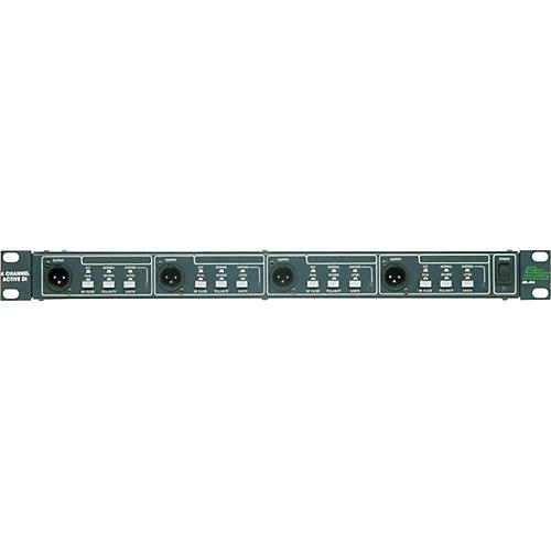BSS Audio AR-416 Quad Active DI Box