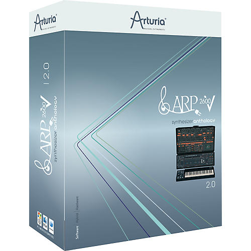 Arturia ARP 2600 V 2.0 Virtual Synth Software