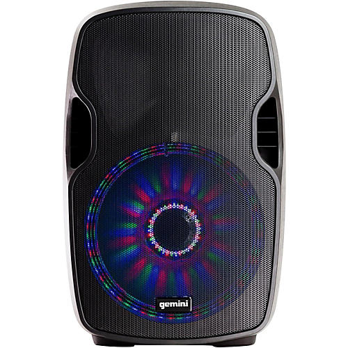 Gemini AS-10BLU-LT 10 in. Powered Bluetooth Speaker with LED Lights-thumbnail