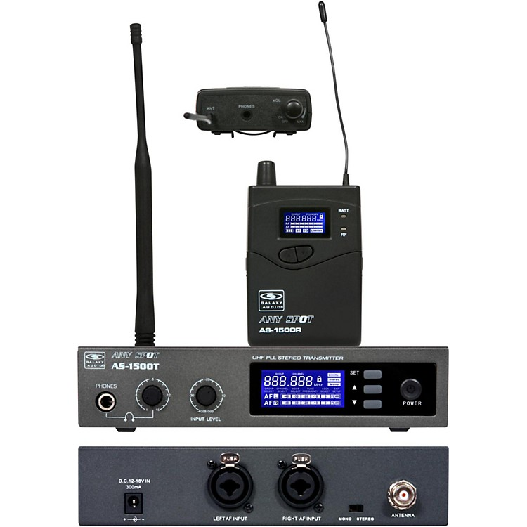 Galaxy Audio AS-1500 Personal Wireless System Channel L
