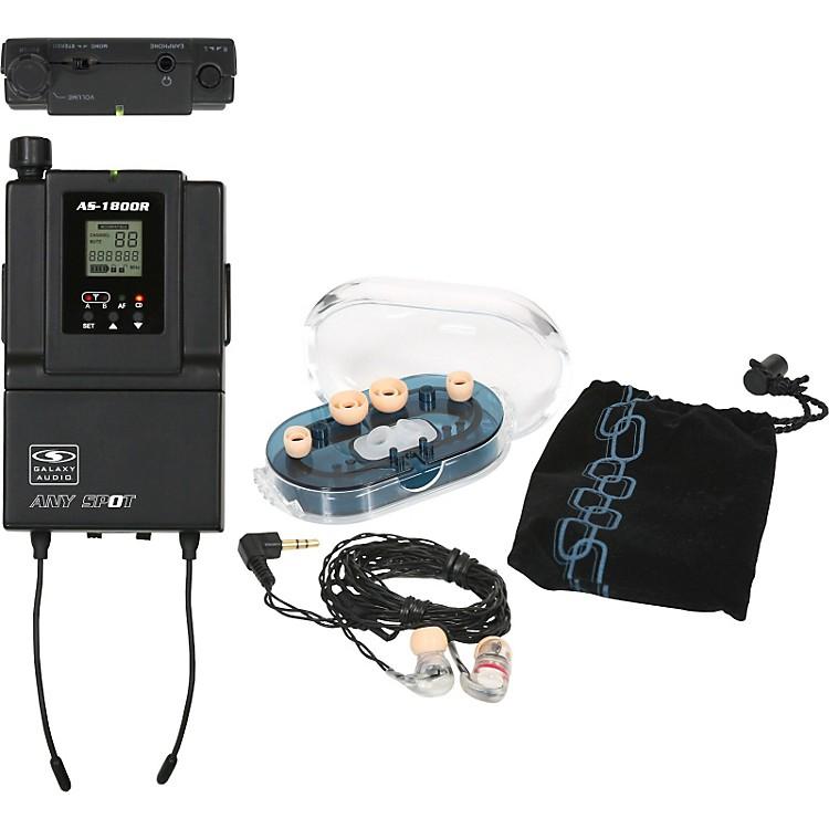 Galaxy AudioAS-1800 Receiver W/ EB6 Earbuds
