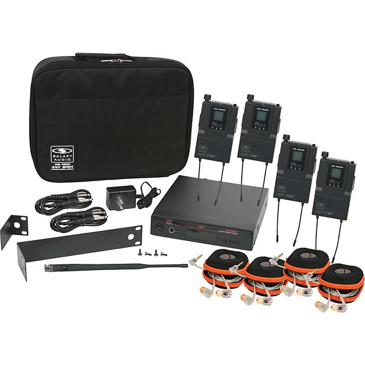 Galaxy AudioAS-1810 Any Spot Wireless Personal Monitor Band Pack w/EB10 earbudsFreq. Code B3