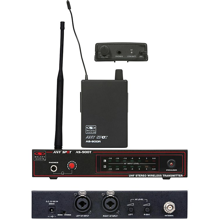 Galaxy AudioAS-900 Personal Wireless SystemK8/659.0 MHz