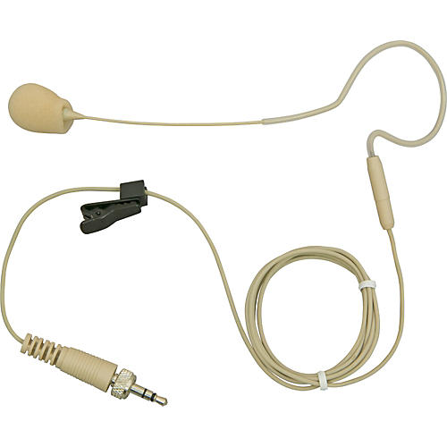 Galaxy Audio AS-HSE Any Spot Single Ear Unidirectional Headset Microphone Cocoa AKG