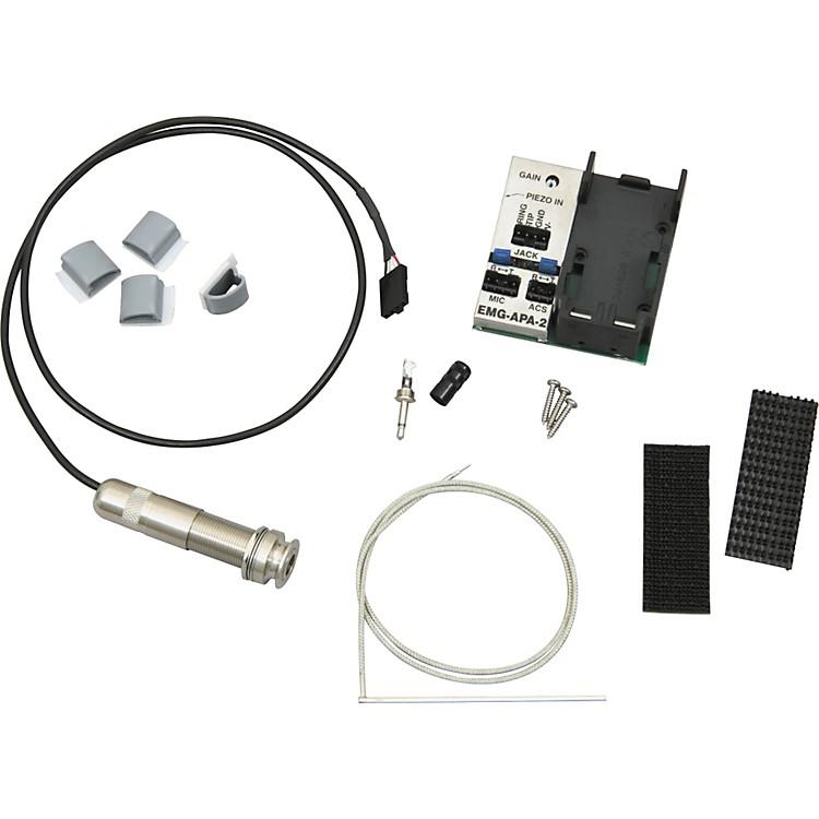EMGAS125U Acoustic Saddle Pickup System - Wide