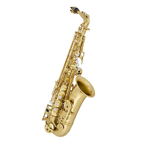 Antigua Winds AS3220 Intermediate Series Eb Alto Saxophone Silver Plated Body Lacquered keys