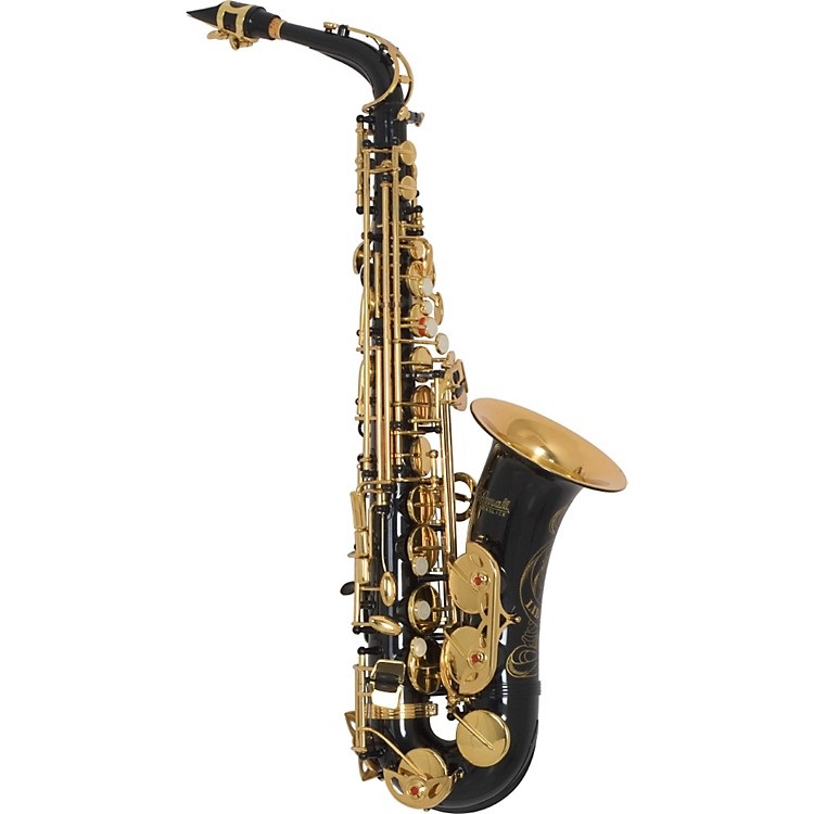 Amati AS43 Intermediate Alto Saxophone Black Lacquer