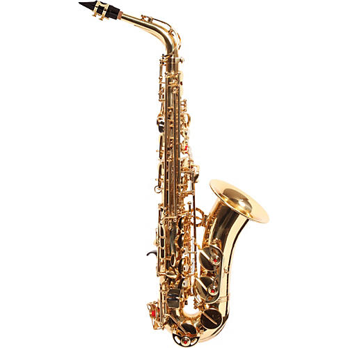 Amati AS43 Intermediate Alto Saxophone Gold Lacquer