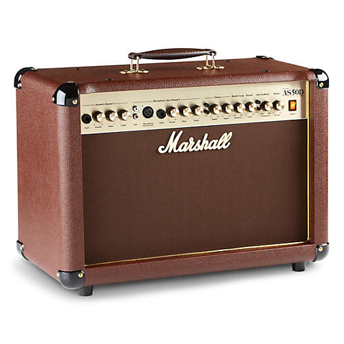 marshall as50d 50w 2x8 acoustic guitar combo amp musician 39 s friend. Black Bedroom Furniture Sets. Home Design Ideas