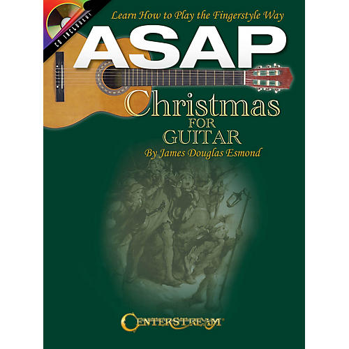 Centerstream Publishing ASAP Christmas for Guitar Guitar Series Softcover with CD Written by James Douglas Esmond-thumbnail