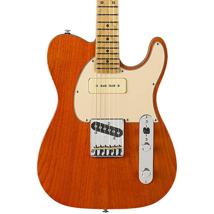 G&L ASAT Classic Bluesboy 90 Electric Guitar Clear Orange
