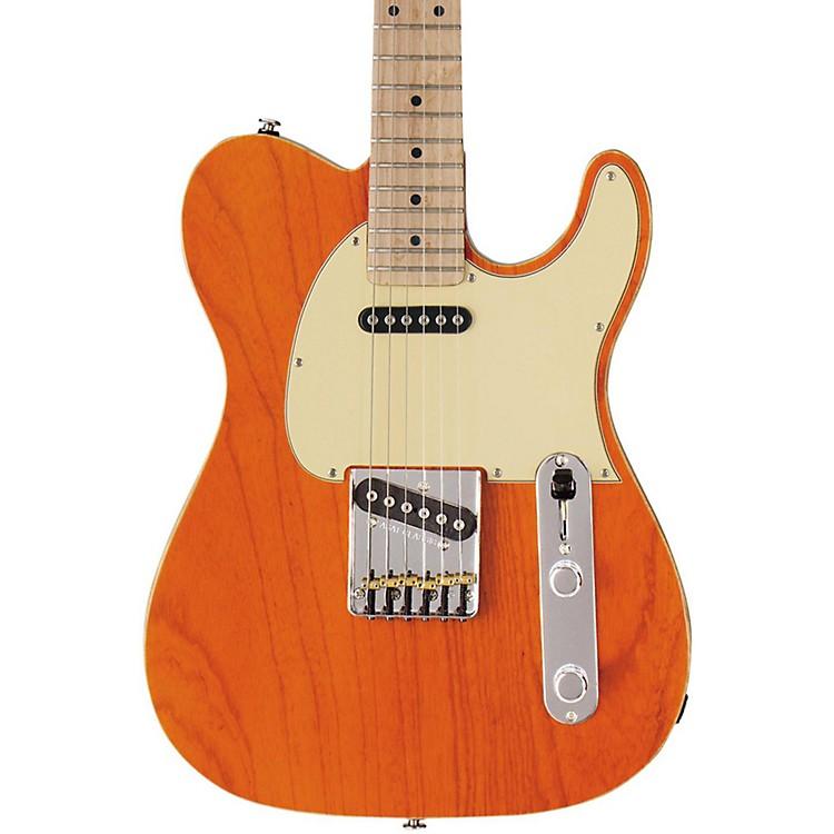 G&LASAT Classic Electric GuitarClear Orange