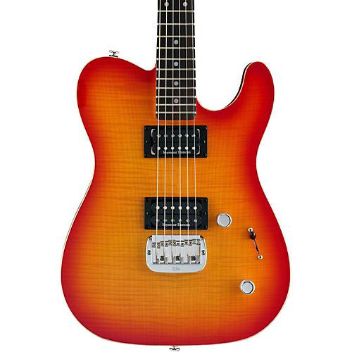 G&L ASAT Deluxe Electric Guitar Cherryburst
