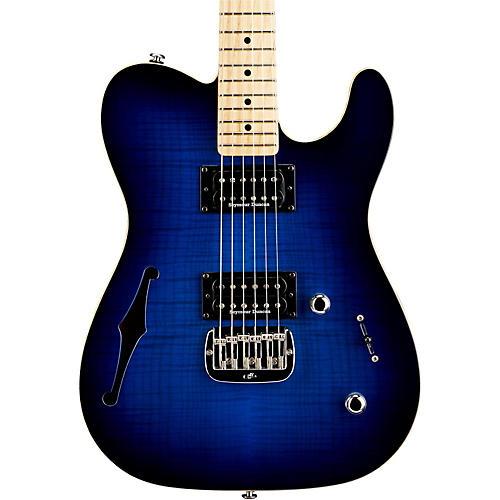 G&L ASAT Deluxe Semi-Hollow Electric Guitar-thumbnail