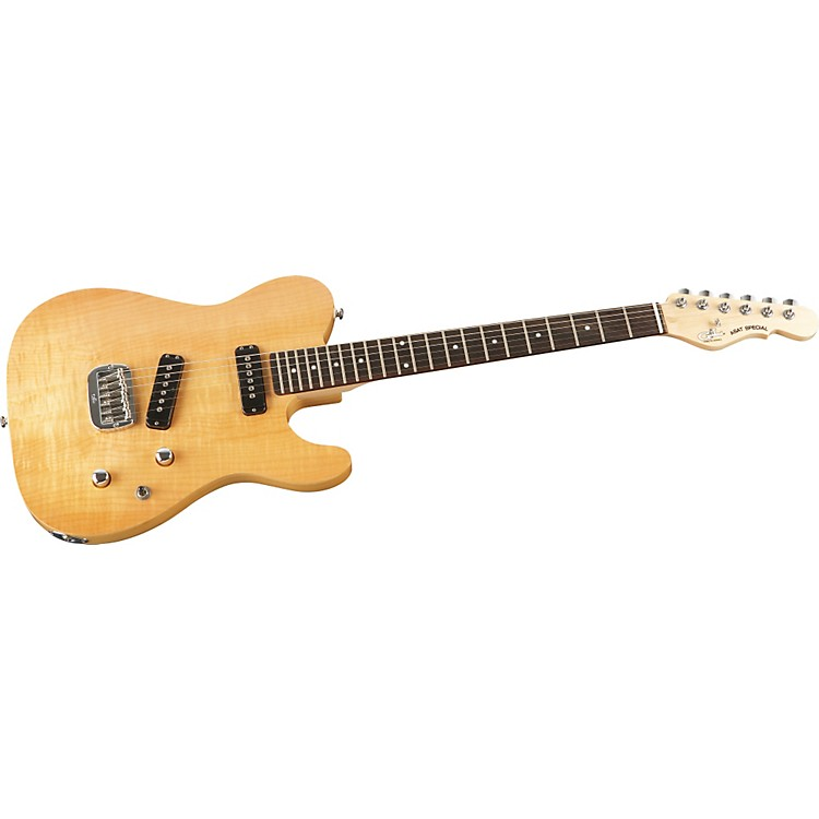 G&LASAT Special Deluxe Carved Top Electric Guitar
