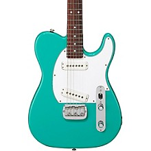 G&L ASAT Special Rosewood Fingerboard Electric Guitar Belair Green 3-Ply White Pickguard