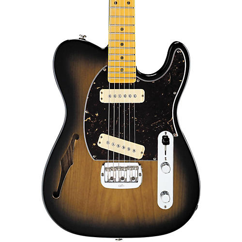G&L ASAT Special Semi-Hollow Electric Guitar 2-Tone Sunburst