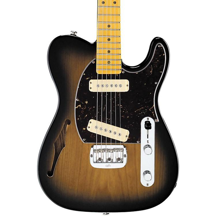G&LASAT Special Semi-Hollow Electric Guitar2-Tone Sunburst