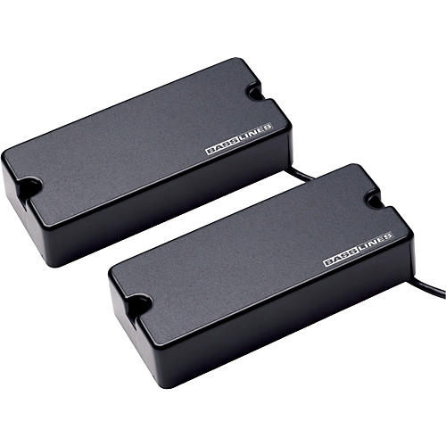 Basslines ASB-BO-5s Blackouts for 5-String Bass - Neck & Bridge Set Black