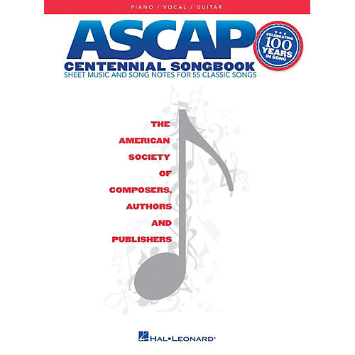 Hal Leonard ASCAP Centennial Songbook for Piano/Vocal/Guitar-thumbnail