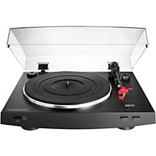 Open Box Audio-Technica AT-LP3BK Automatic Belt-Drive Stereo Record Player Turntable