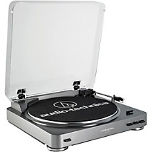Open Box Audio-Technica AT-LP60-USB Fully Automatic Belt-Drive Stereo Record Player (USB & Analog)