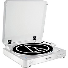 Open BoxAudio-Technica AT-LP60WH-BT Fully Automatic Wireless Belt-Drive Stereo Record Player