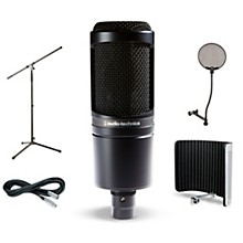 Audio-Technica AT2020 VS1 Stand Pop Filter and Cable Kit