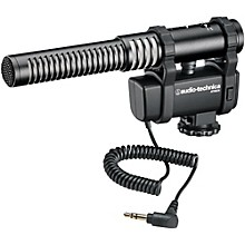 Audio-Technica AT8024 Mono/Stereo Camera Mount Microphone