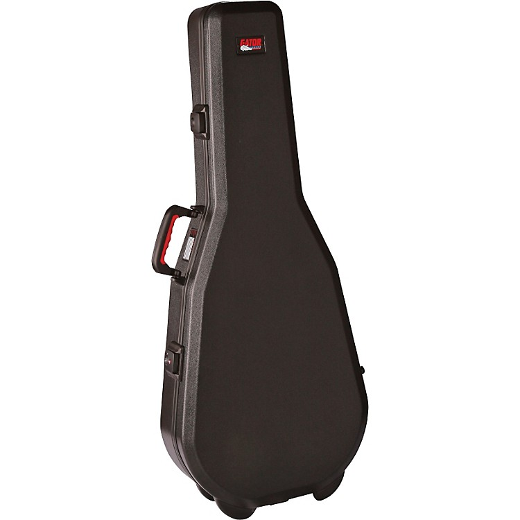 Gator ATA Molded Acoustic Dreadnought Guitar Case with TSA Latches