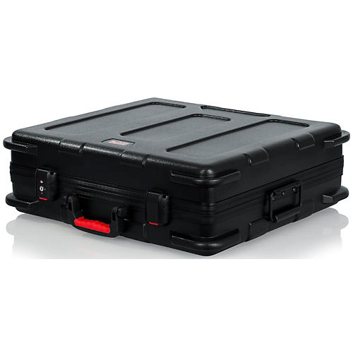 Gator ATA Molded Mixer Case with 12U Pop-Up Rack Rails-thumbnail