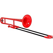 Allora ATB100 Aere Series Plastic Trombone Red