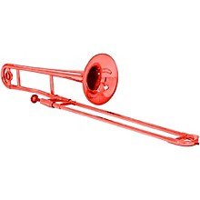 Allora ATB100M Aere Custom Series Plastic Trombone Metallic Red