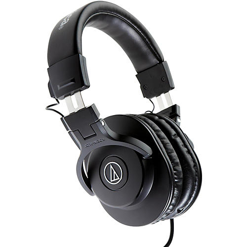 Audio-Technica ATH-M30x Closed-Back Professional Studio Monitor Headphones Black