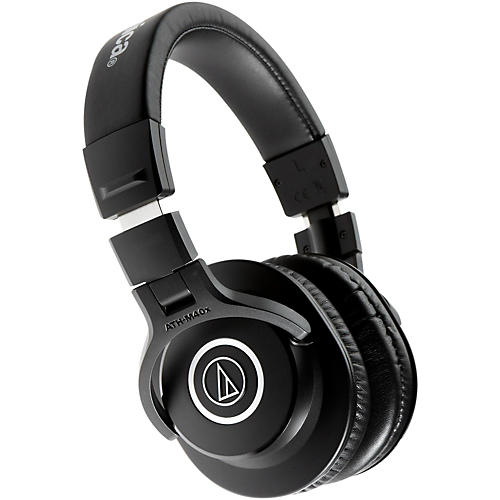 Audio-Technica ATH-M40x Closed-Back Professional Studio Monitor Headphones Black