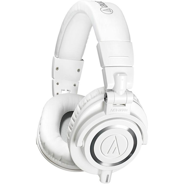 Audio-TechnicaATH-M50x Closed-Back Professional Studio Monitor HeadphonesWhite