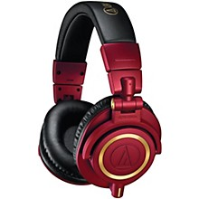 Open BoxAudio-Technica ATH-M50x Red/Gold Limited Edition Headphone
