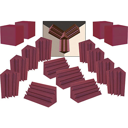 Auralex ATOM-12 System Burgundy