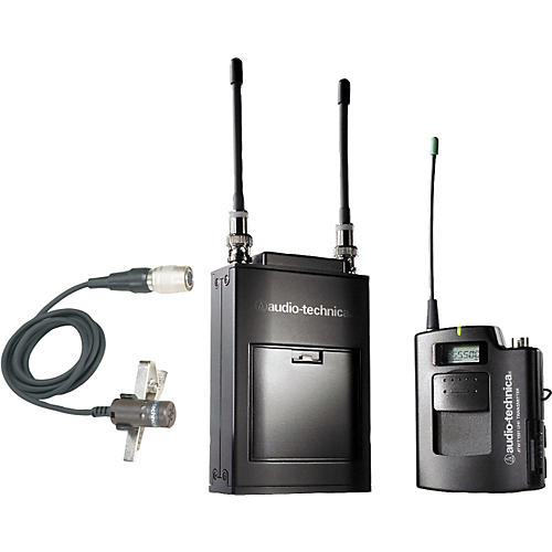 Audio-Technica ATW-1821 1800 Series Dual Channel Camera Mount UHF Wireless System