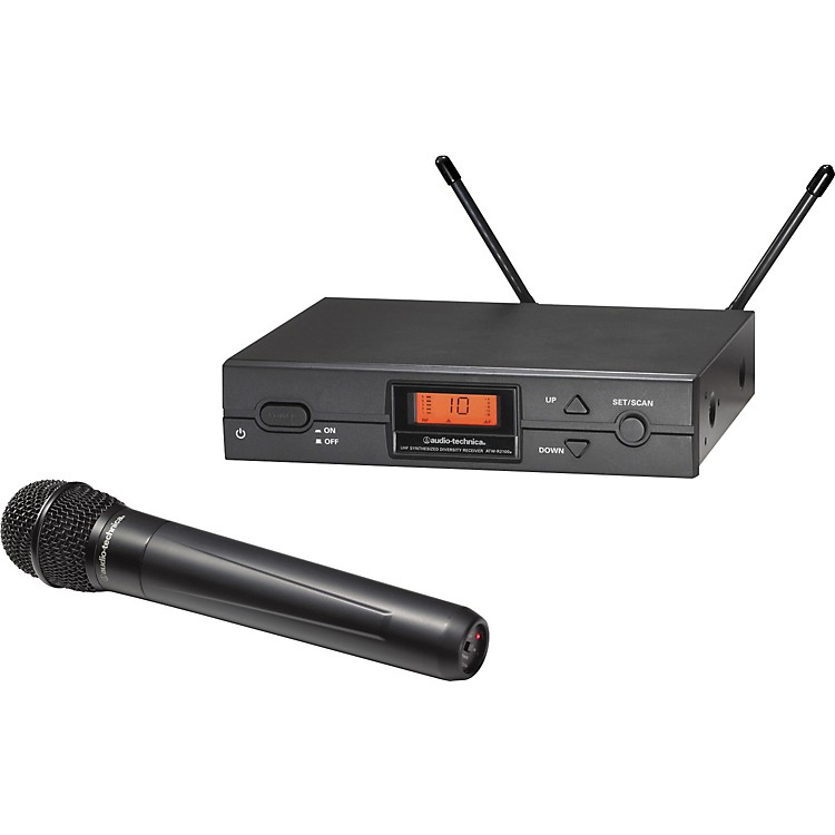 Audio-Technica ATW-2120a 2000 Series Handheld Wireless System Channel D